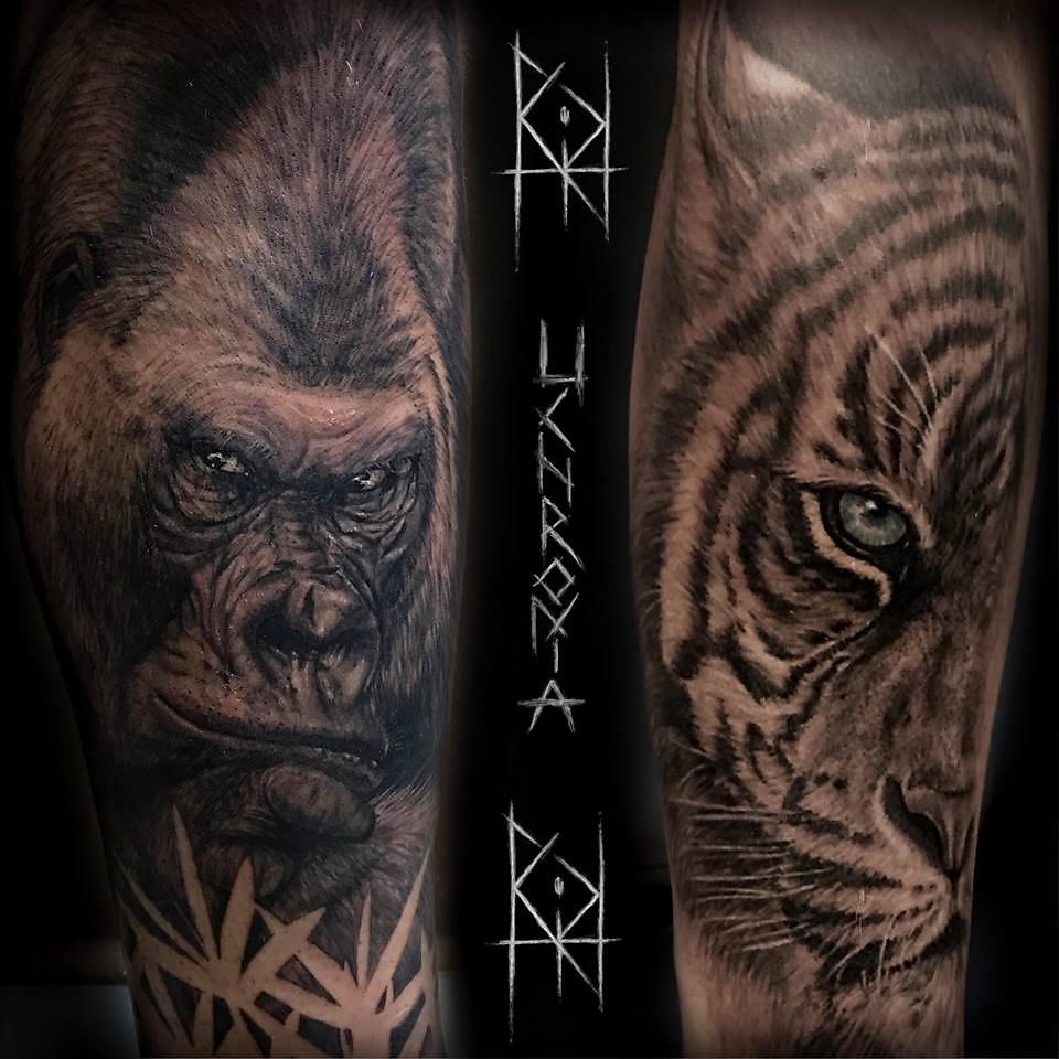 morgane tattoo